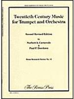20th Century Music for Trumpet and Orchestra Sheet Music