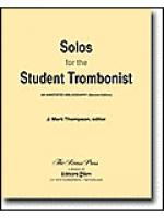 Solos for the Student Trombonist Sheet Music