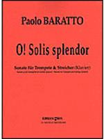 O! Solis splendor Sheet Music