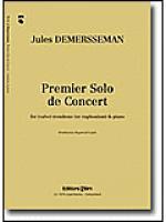 Premier solo de concert Sheet Music