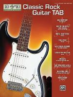 10 for 10 Classic Rock Guitar Tab Sheet Music