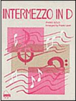 Intermezzo in D Sheet Music