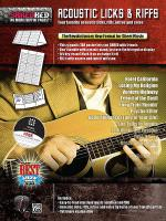 Acoustic Licks & Riffs Sheet Music