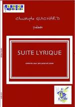 Suite lyrique Sheet Music