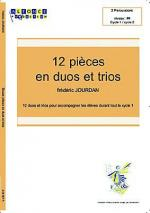 Douze pieces en duos et trios Sheet Music