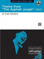 The Asphalt Jungle Suite, Theme from Sheet Music