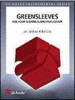 Greensleeves 4 Clarinets And Percussion (easy-intermed) Sheet Music