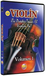 Violin Vol. 1, Spanish Only DVD Sheet Music