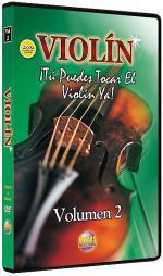 Violin Vol. 2, Spanish Only DVD Sheet Music