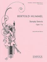 Sonata brevis, Op. 11a Sheet Music