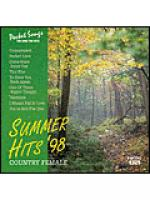 You Sing: The Summer Hits '98 (Country Female) (Karaoke CDG) Sheet Music