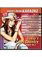 Today's Hot Country Female - Vol. 2 (Karaoke CDG) Sheet Music
