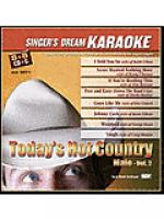 Today's Hot Country Male - Vol. 2 (Karaoke CDG) Sheet Music