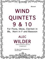 Wind Quintets 9 & 10 Sheet Music