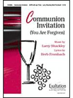 Communion Invitation Sheet Music