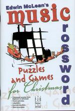 Edwin McLean's Music Crossword Puzzles and Games for Christmas Sheet Music