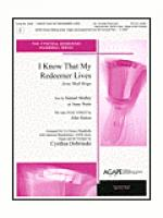 I Know That My Redeemer Lives Sheet Music