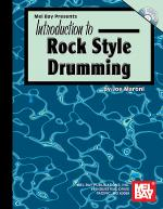 Introduction to Rock Style Drumming Book/CD Set Sheet Music