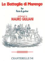 Giuliani: La Battaglia Di Marengo (For Flute & Guitar) Sheet Music