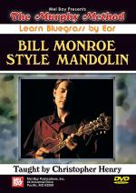 Bill Monroe Style Mandolin DVD Sheet Music
