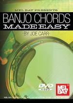 Banjo Chords Made Easy DVD Sheet Music