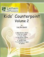 Kids' Counterpoint: Volume 2 for 2 Violins Sheet Music