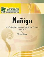 Nanigo for String Orchestra and Optional Drums Sheet Music