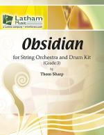 Obsidian for String Orchestra and Drum Kit Sheet Music