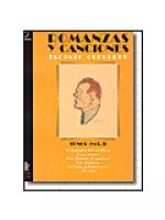 Romanzas y canciones - Tenor I Sheet Music
