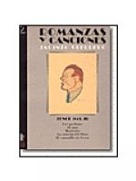 Romanzas y canciones - Tenor II Sheet Music