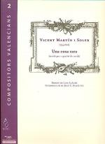 Una cosa rara, string quartet version Sheet Music