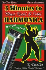3 Minutes to Blues, Rock & Folk Harmonica Sheet Music