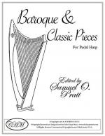 Baroque and Classical Pieces for Harp Sheet Music