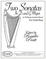 Two Sonatas For Harp In D and G Sheet Music