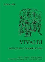 Sonata in C major (RV 801) Sheet Music