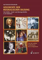 Geschichte der musikalischen Bildung Sheet Music