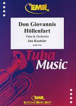 Don Giovannis Hollenfart Sheet Music