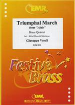 Triumphal March from Aida Sheet Music