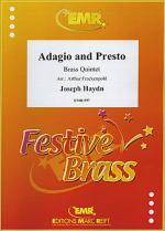 Adagio and Presto Sheet Music