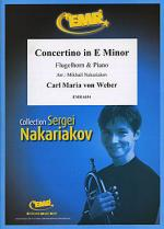 Concertino in E Minor Sheet Music