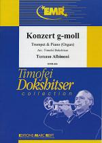Konzert g-moll Sheet Music