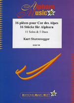 16 Stucke fur Alphorn (Solos/Duets) Sheet Music
