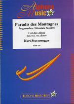 Paradis des Montagnes (Alphorn Gb) Sheet Music