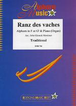 Ranz des Vaches (Alphorn in F+Gb) Sheet Music