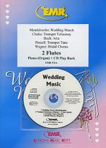Wedding Music - Flute Duet (with CD) Sheet Music