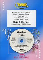 Wedding Music - Flute/Clarinet Duet ) (with CD) Sheet Music