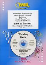 Wedding Music - Flute/Bassoon Duet (with CD) Sheet Music