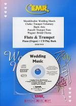 Wedding Music - Flute/Trumpet Duet (with CD) Sheet Music