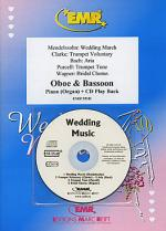 Wedding Music - Oboe/Bassoon Duet (with CD) Sheet Music