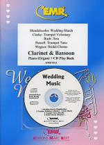 Wedding Music - Clarinet/Bassoon Duet (with CD) Sheet Music